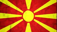 Macedonian Flag Video Loop