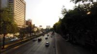 Mexico City Road Time-lapse