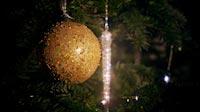 Multi Colored Christmas Ball And Rotating Icicle