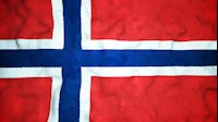 Norwegian Flag Video Loop