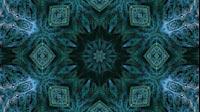 Octo Fractal Kaleida Blue