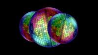 Rainbow Disco Ball Grouped 2