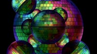 Rainbow Disco Ball Moving Pattern 3