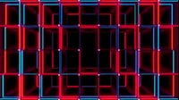 Red And Blue Cubes Stretched Zoom
