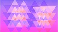 Slow Triangle Background Purple Pink And Orange