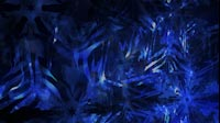 Snowflakes Blue Close