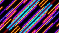 Striped Background Diagonal Purple Orange Blue