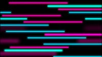 Striped Background Horizontal Purple Blue Green