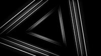 Surreal Visuals White Triangle Tunnel