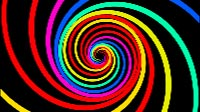Swirl Colors Thick