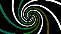 Swirl Green Gradient