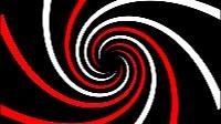 Swirl Red And White