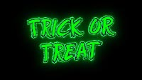 Trick Or Treat Green