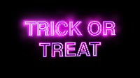 Trick Or Treat Neon