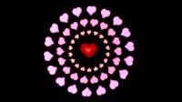 Valentine Hearts Spinning