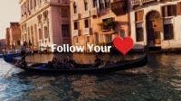 Venice 08 Gondola heart