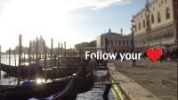 Venice 09 Gondola heart