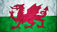 Welsh Flag Video Loop