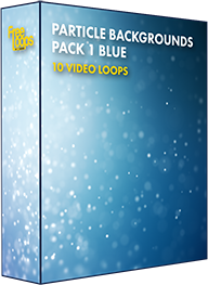 Particle Backgrounds Pack 1 Blue
