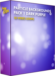 Particle Backgrounds Pack 1 Dark Purple
