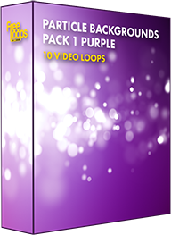 Particle Backgrounds Pack 1 Purple