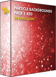 Particle Backgrounds Pack 1 Red