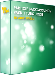 Particle Backgrounds Pack 1 Turquoise