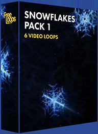 Snowflakes Pack 1