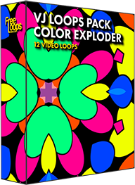 VJ Loops Pack Color Exploder