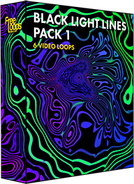 Black Light Lines Pack 1