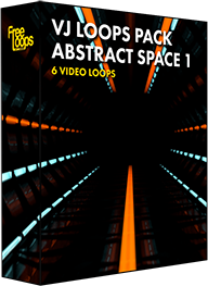 VJ Loops Pack Abstract Space 1
