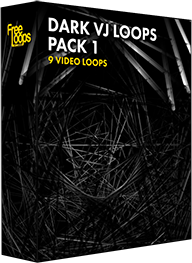 Dark VJ Loops Pack 1