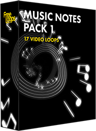 Music Notes Pack 1