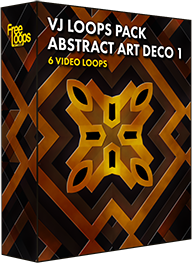 VJ Loops Pack Abstract Art Deco 1