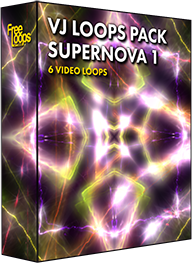 VJ Loops Pack Supernova 1
