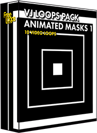 VJ Loops Pack Animated Masks 1
