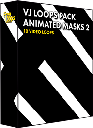 VJ Loops Pack Animated Masks 2