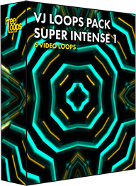 VJ Loops Pack Super Intense 1