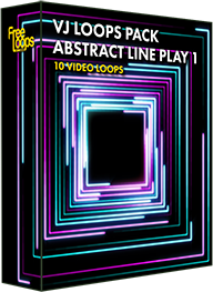 VJ Loops Pack Abstract Line Play 1