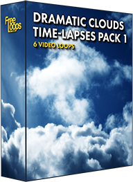 Dramatic Clouds Time-lapses Pack 1
