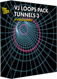 VJ Loops Pack Tunnels 3
