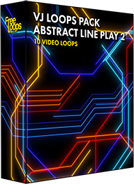 VJ Loops Pack Abstract Line Play 2