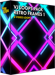 VJ Loops Pack Retro Frames 1