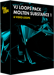 VJ Loops Pack Molten Substance 1