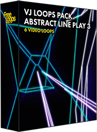 VJ Loops Pack Abstract Line Play 3