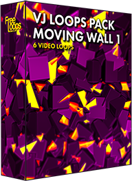 VJ Loops Pack Moving Wall 1