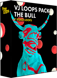 VJ Loops Pack The Bull