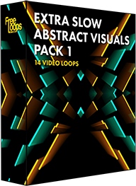 Extra Slow Abstract Visuals Pack 1