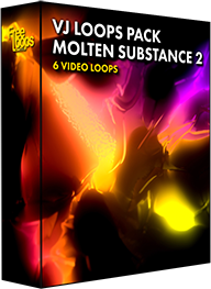 VJ Loops Pack Molten Substance 2