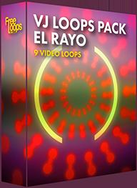 VJ Loops Pack El Rayo